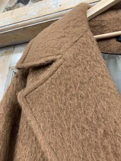 ПАЛЬТО-ХАЛАТ утепленное из мохера - фото 10340