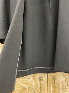 ЖАКЕТ-ПАЛЬТО минималистичный без застежек, без подкладки (из шерсти) - фото 10444