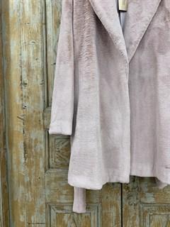 ШУБКА -ПОЛУПАЛЬТО из искусственного меха (под норку) - фото 10492