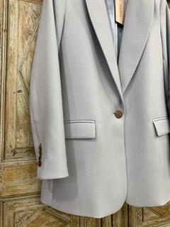 ЖАКЕТ Однобортный Мягкая ласточка-Z, из шерсти диагональ - фото 10765