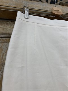 ЮБКА-КАРАНДАШ миди, лен, длина 67 см - фото 10889