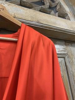 БЛУЗКА на запАхе с мягкой драпировкой (искусственный шелк) - фото 11046