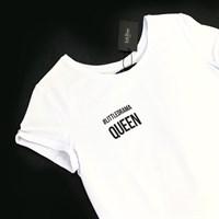 ФУТБОЛКА женская LD-Queen с широким вырезом - фото 4568