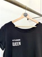 ФУТБОЛКА женская LD-Queen с широким вырезом - фото 4759