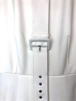 ПЛАТЬЕ (джерси, миди, складка на юбке, с ремнем) - фото 4913