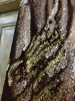 ЮБКА-КАРАНДАШ из двусторонних пайеток (ЗОЛОТО) - фото 6220