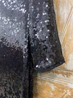 ПЛАТЬЕ-ЧУЛОК МИДИ из круглых мягких пайеток (рыбья чешуя) - фото 6343