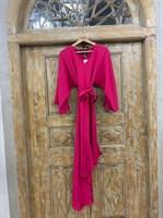 ПЛАТЬЕ вечернее кимоно, юбка ассиметрия по косой - фото 6686