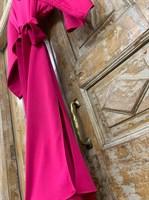 ПЛАТЬЕ вечернее кимоно, юбка ассиметрия по косой - фото 6688