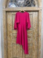 ПЛАТЬЕ вечернее кимоно, юбка ассиметрия по косой - фото 6689