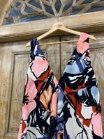 САРАФАН А-силуэт в крупные цветы - фото 6928
