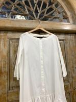 ТУНИКА платье-рубашка свободное с оборкой - фото 7040