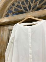 ТУНИКА платье-рубашка свободное с оборкой - фото 7041