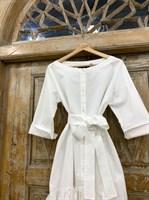 ТУНИКА платье-рубашка свободное с оборкой - фото 7044