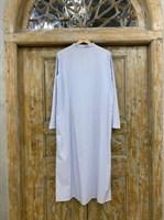 """ПЛАТЬЕ """"рубашка"""" с V-вырезом длинная - фото 7069"""