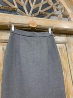ЮБКА-КАРАНДАШ миди со шлицей, 64 см - фото 7169