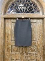 ЮБКА-КАРАНДАШ миди со шлицей, длина 66 см - фото 7172