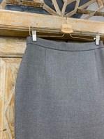 ЮБКА-КАРАНДАШ миди со шлицей, длина 66 см - фото 7173