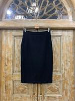 ЮБКА-КАРАНДАШ из шерсти, длина 66 см - фото 7179
