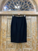 ЮБКА-КАРАНДАШ из шерсти, длина 66 см - фото 7180