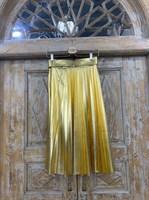 ЮБКА Полуплиссе-комбинированная с ремнем - фото 7257