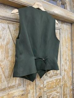 ЖИЛЕТКА для костюма-тройки (из Льна с вискозой) - фото 8635