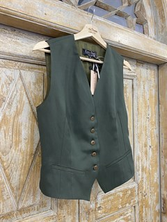 ЖИЛЕТКА для костюма-тройки (из Льна с вискозой) - фото 8637