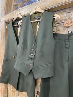 ЖИЛЕТКА для костюма-тройки (из Льна с вискозой) - фото 8645