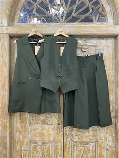 ЖИЛЕТКА для костюма-тройки (из Льна с вискозой) - фото 8646