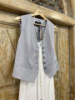 ЖИЛЕТКА для костюма-тройки (из тонкой Шерсти) - фото 8676