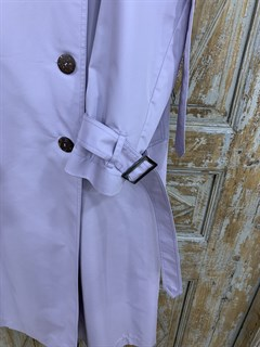 ТРЕНЧКОТ классический, длинные паты на плечах и рукавах (60/40 Хлопок с пэ пропиткой), длина 125 см - фото 9259