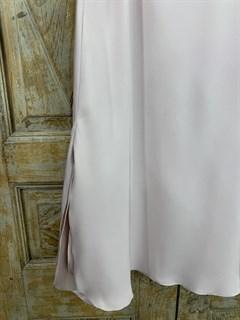 ЮБКА атласная, трапеция двойная двусторонняя по косой, с разрезом - фото 9793