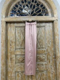 БРЮКИ свободные в пижамном стиле на мягкой резинке (из атласа) - фото 9955
