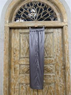 БРЮКИ свободные в пижамном стиле на мягкой резинке (из атласа) - фото 9966