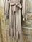 ПЛАТЬЕ-МИДИ с V-вырезом, талией на резинке, оборкой на юбке и рукавами на сборке (Вискоза-Твил) - фото 10394