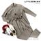 КОСТЮМ ЛЬНЯНОЙ (рубашка свободная и брюки зауженные на резинке с поясом-бант) - фото 5503
