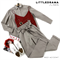 КОСТЮМ ЛЬНЯНОЙ (рубашка свободная и брюки зауженные на резинке с поясом-бант) - фото 5504