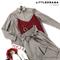 КОСТЮМ ЛЬНЯНОЙ (рубашка свободная и брюки зауженные на резинке с поясом-бант) - фото 5505