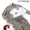 КОСТЮМ ЛЬНЯНОЙ (рубашка свободная и брюки зауженные на резинке с поясом-бант) - фото 5506