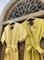 КОМБИНЕЗОН, широкие брюки с защипом в пол, верх на запАхе, короткий рукав (из вискозы под лен) - фото 7614