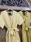 КОМБИНЕЗОН, широкие брюки с защипом в пол, верх на запАхе, короткий рукав (Лен) - фото 7616