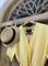 КОМБИНЕЗОН, широкие брюки с защипом в пол, верх на запАхе, короткий рукав (Лен) - фото 7617