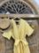 КОМБИНЕЗОН, широкие брюки с защипом в пол, верх на запАхе, короткий рукав (Лен) - фото 7618