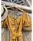 """ПЛАТЬЕ """"ЧАЙНОЕ"""" с кулиской и рукавами на резинках (из вискозного муслина) - фото 7753"""